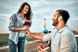 הצעת נישואין בשדה התעופה