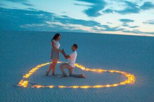 הצעת נישואין במדבר