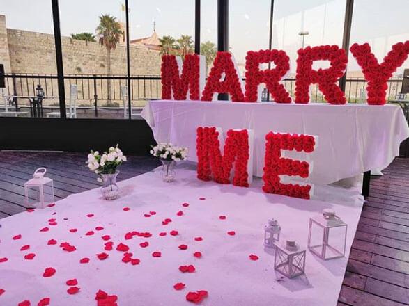 הצעת נישואין במלון
